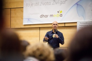 Robin Sharma u Zagrebu, Dhar media
